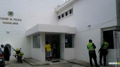 Estación de Policía de Sabanagrande.
