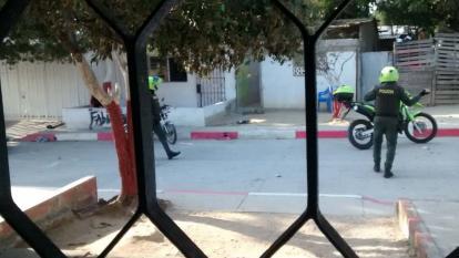 En video   Así fue la intervención de la Policía en el barrio Por Fin