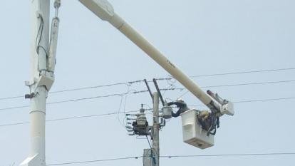 La calle 76 estará sin energía este jueves durante ocho horas