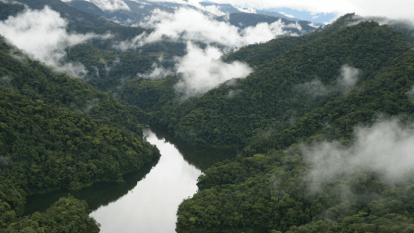 Central hidroeléctrica Alto Anchicayá.