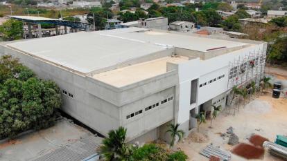 Nuevo hospital de Malambo registra avance del 75 por ciento