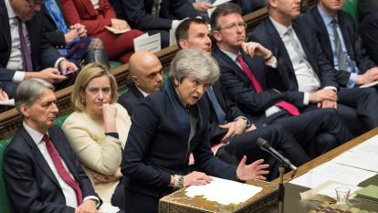 Theresa May pide a la UE un aplazamiento del Brexit hasta el 30 de junio