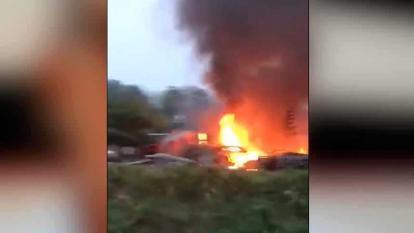 En video | Ejército atribuye al Eln atentado contra finca de precandidato a Alcaldía en Saravena