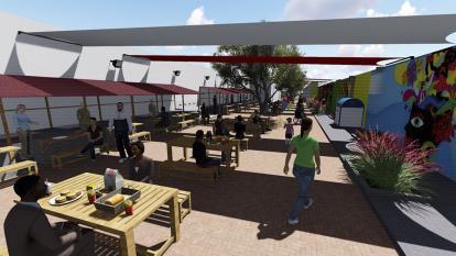 Reubicarán 103 vendedores informales del Centro Histórico de Barranquilla