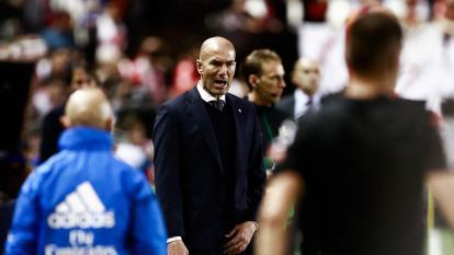 El DT Zinedine Zidane.