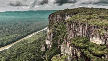 """""""En pocos días parque natural Chiribiquete tendrá rutas aéreas"""": Duque"""