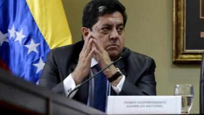 Édgar Zambrano, vicepresidente de la Asamblea Nacional de Venezuela.
