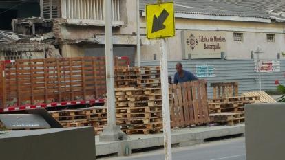 Desconocidos destruyeron obra instalada en el bulevar de la carrera 54