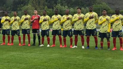 Selección Colombia Sub 20.