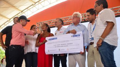 En Soledad arrancó la ruta de mejora de vivienda para una vida digna