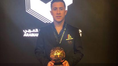 En video | Ortega gana el premio al mejor gol del año en la Liga Árabe del Golfo