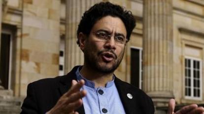 Iván Cepeda, senador opositor, del Polo.