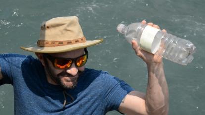 En video | Así navega una botella por las aguas de Colombia