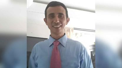 Cristian Eduardo Almanza Cueto, víctima.