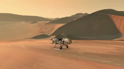 La Nasa enviará un dron a la luna más grande de Saturno en busca de vida