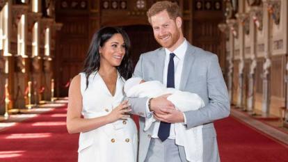 Archie, hijo de Enrique y Meghan, será bautizado este sábado