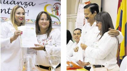 Berenice Bedoya, presidente de ASI, entregó aval a  Diana Macías y a Rafael Sánchez.