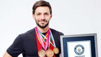 Antonio Díaz, el karateca récord Guinness que busca una despedida olímpica