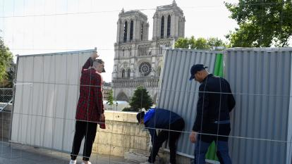 Catedral de Notre Dame aún corre riesgo de colapsar, advierte gobierno francés