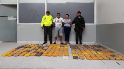 Incautan 95.000 dosis de marihuana en Santa María
