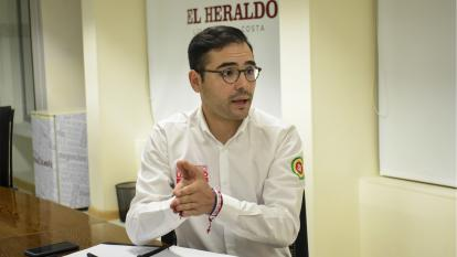 """""""Mi principal apuesta es ordenar la casa"""": Sergio Londoño"""