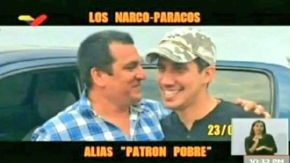 Fiscalía de Venezuela publica más fotos de Guaidó con supuestos 'Rastrojos'