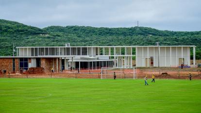 En video | Un recorrido por la sede de la Selección Colombia en Barranquilla, que avanza en un 75%