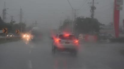 Lluvias en Barranquilla y Atlántico.