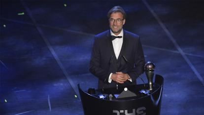 Jürgen Klopp es reconocido como el mejor entrenador del año