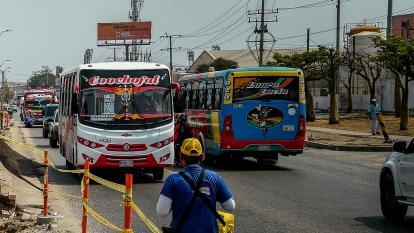 Transporte colectivo, el lugar más inseguro para los barranquilleros