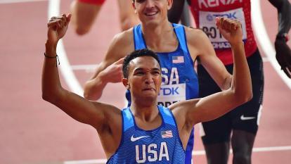El estadounidense Brazier, pupilo de Salazar, oro mundial en 800 metros