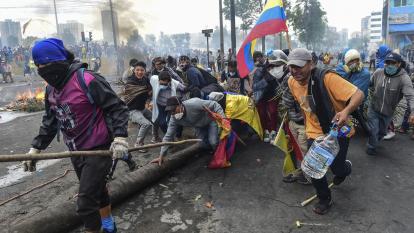 Se aleja opción de diálogo en Ecuador en medio de rebrote de violencia