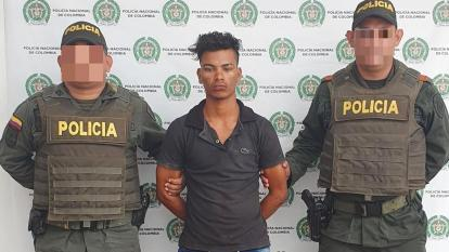 Jovanys Cardeño Gómez, presunto asesino de su hermano.