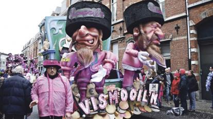Carroza que despertó indignación en el Carnaval.