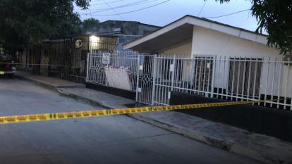 El incendio ocurrió en el barrio San Luis.