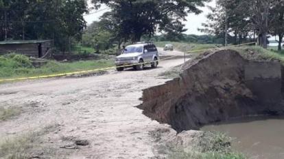 """Invías prevé """"la gran inundación"""" si no se actúa ya en Salamina"""