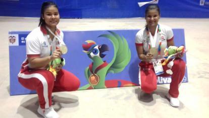 Sharon y Shanee Torres Doncell ganan los primeros oros para Atlántico