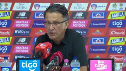 Osorio critica a Teo sin hablar del codazo que le dio Perlaza