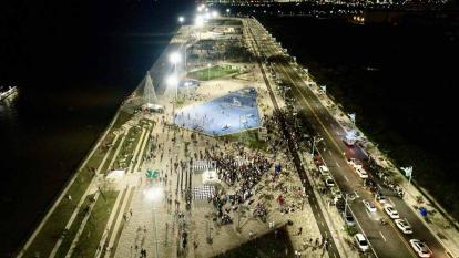 Gran Malecón del Río tendrá 22 figuras de Navidad