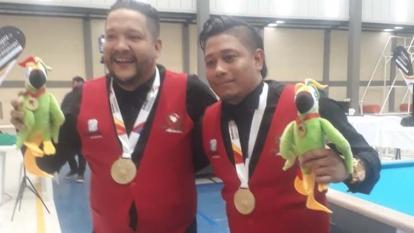 Atlántico logra un oro en el billar pool por equipos en los Nacionales