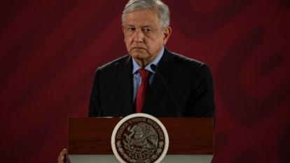 Andrés López Obrador, presidente de México.
