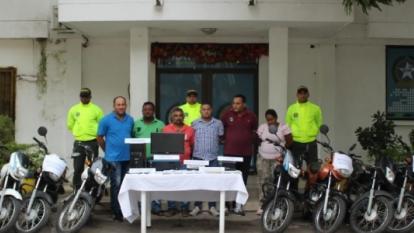 Red falsificaba documentos para 'liberar' motos inmovilizadas en Valledupar
