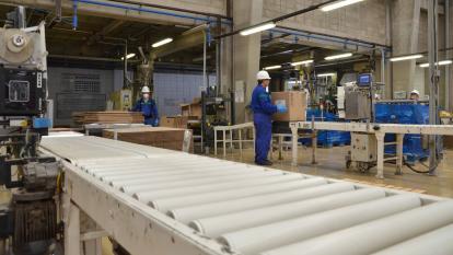 Planta de producción de Bayer ubicada en el departamento del Atlántico.