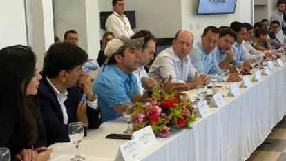 El alcalde Char durante su intervención en la Cumbre de Asocapitales.