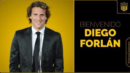 Diego Forlán se convierte en el nuevo DT de Peñarol