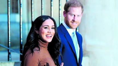 Los duques Harry y Meghan renunciaron como miembros de primer rango de la realeza.