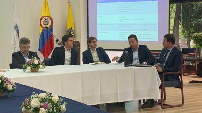 Aspecto de la reunión realizada en Bogotá.