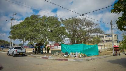 Habitantes del barrio La Luz se oponen a instalación de antena