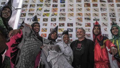 Aves y acordeones abrieron el Carnaval de las Artes