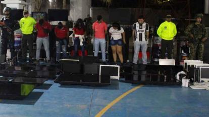 Redada contra las apuestas deportivas ilegales en Riohacha
